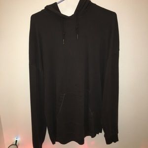 Garment dyed Pacsun drop-shoulder hoodie